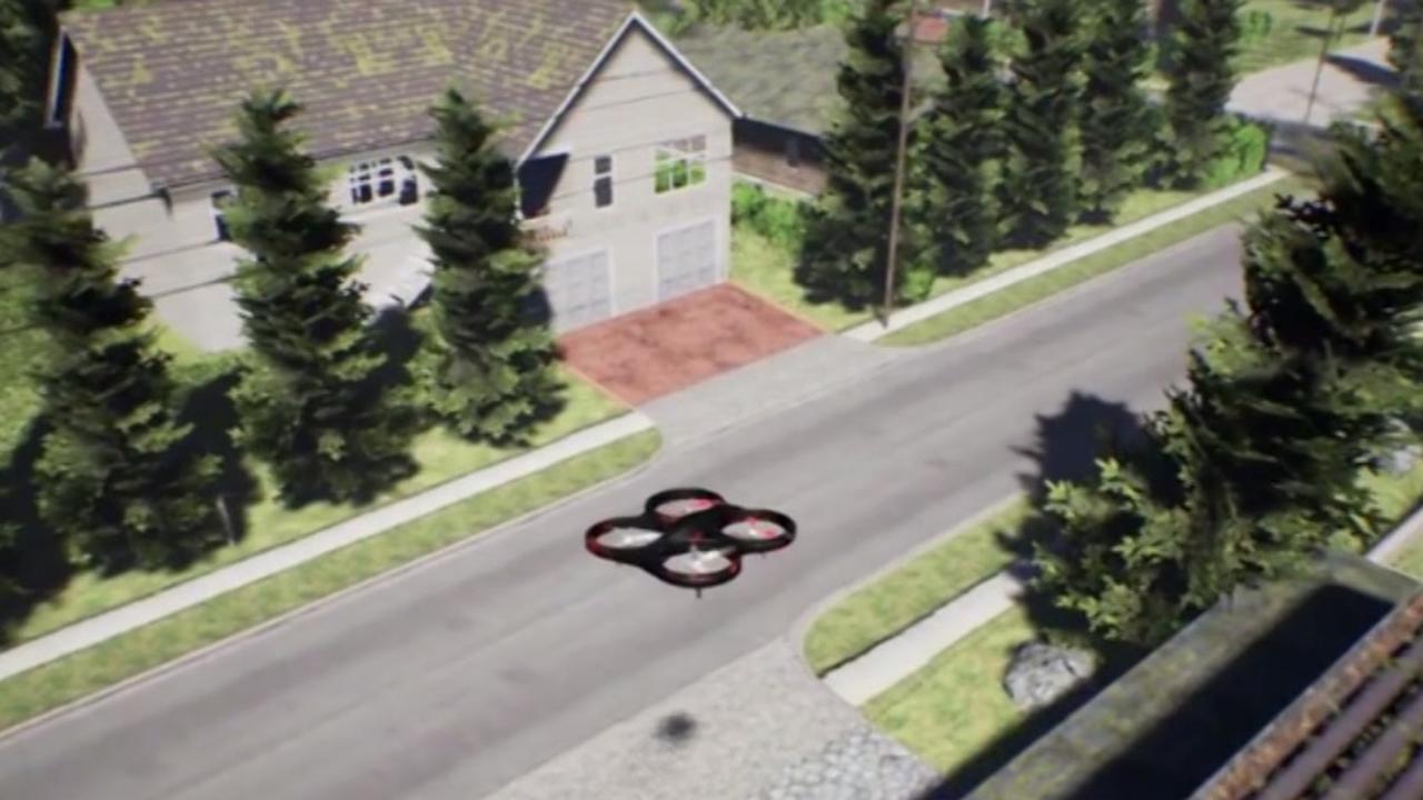 Veilig drones crashen in simulator van Microsoft