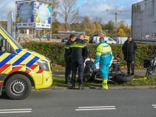 Motorrijder overgebracht naar ziekenhuis