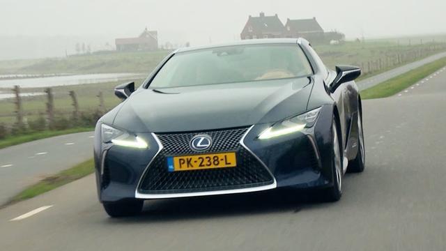 Eerste dubbeltest: Lexus LC tegenover Duitse rivaal BMW