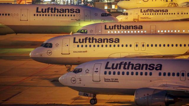 Vluchtschema Lufthansa zaterdag 'normaal'