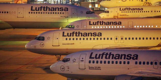 Personeel Lufthansa staakt rest van de week