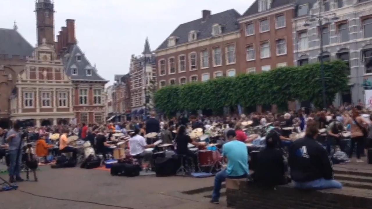 260 muzikanten treden tegelijk op in Haarlem