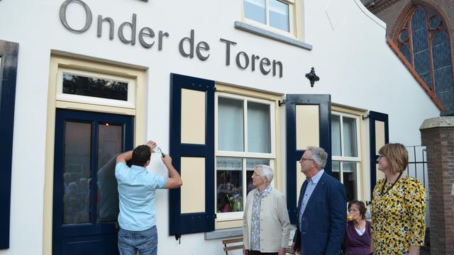 Café Onder de Toren wint Halderbergse Monumentenprijs 2016