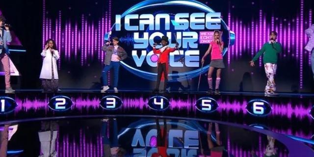 Bijna 800.000 kijkers voor juniorversie van I Can See Your Voice