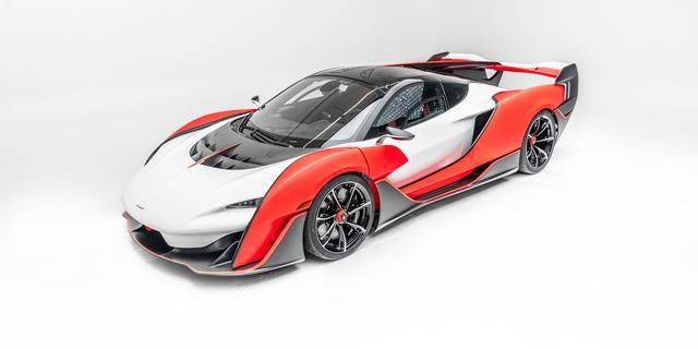 Exclusieve nieuwe McLaren goed voor 836 pk