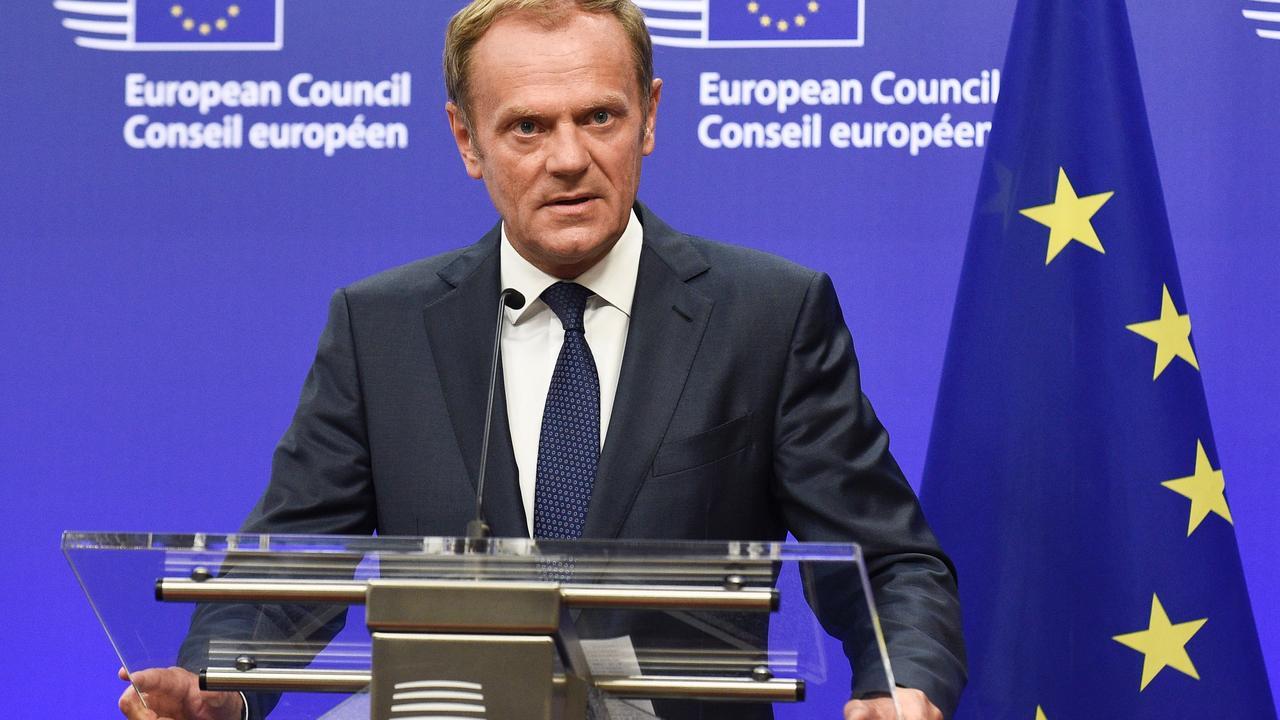 Eu-president Tusk: 'Nu is het tijd om de route van Libië naar Italië te sluiten'