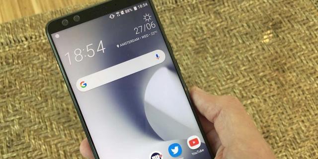 Review: HTC U12 Plus overtuigt niet met 'vaste' knoppen en knijpbediening