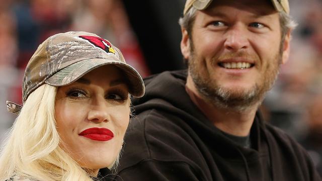 Blake Shelton dankt Gwen Stefani voor het redden van zijn leven