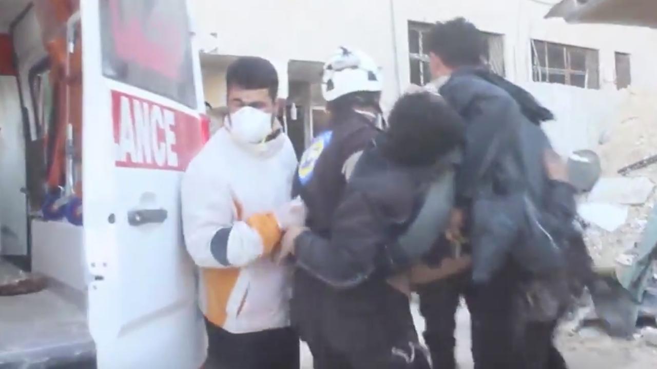 Hulpdiensten draaien overuren na dodelijke gifgasaanval Syrië