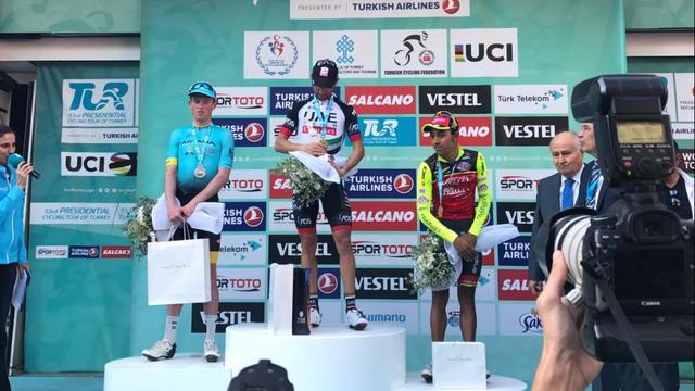 Italiaan Ulissi verovert leiderstrui in enige bergrit Ronde van Turkije
