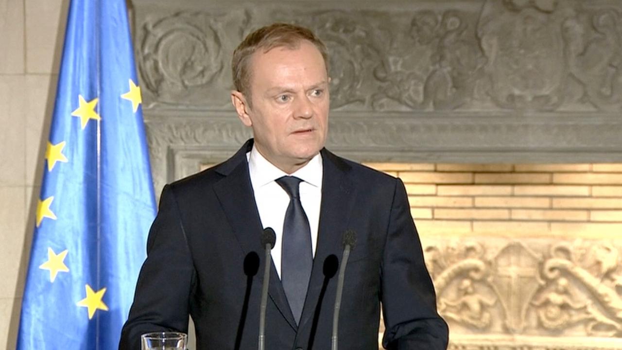 Tusk tegen economische migranten: kom niet