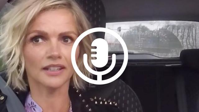 In de auto met Tooske: 'Laat mij het Songfestival presenteren'