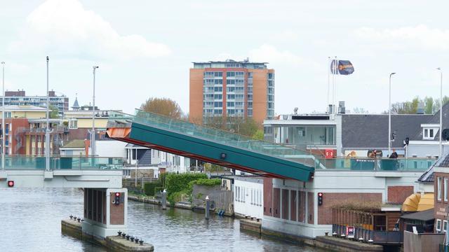 Koningin Julianabrug in Alphen aan den Rijn weer tijdelijk getroffen door storing