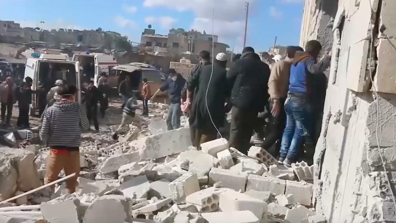 Tientallen doden bij Russische luchtaanval Syrië