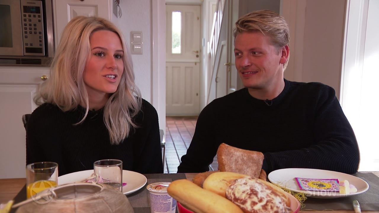 Vriendin Thomas Berge valt 'eigenlijk niet' op blonde mannen