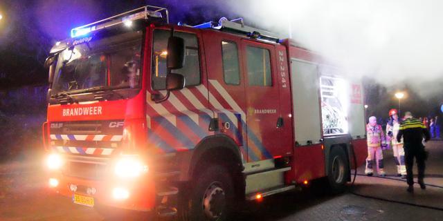 Vier woningen ontruimd bij flatbrand aan Tigrisdreef in Overvecht