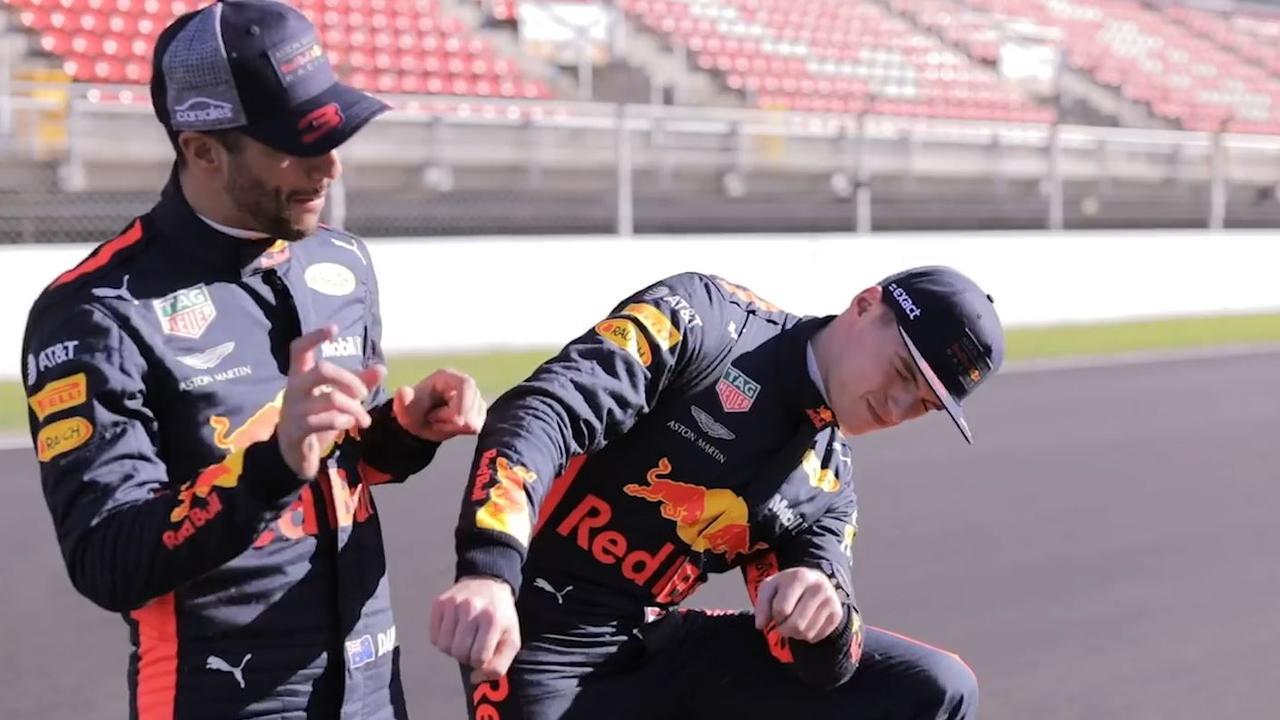 Verstappen en Ricciardo horen elkaar uit richting GP Spanje