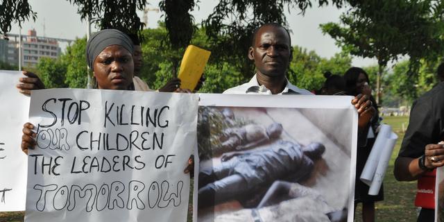Schoolmeisjes niet onder bevrijde gegijzelden Boko Haram