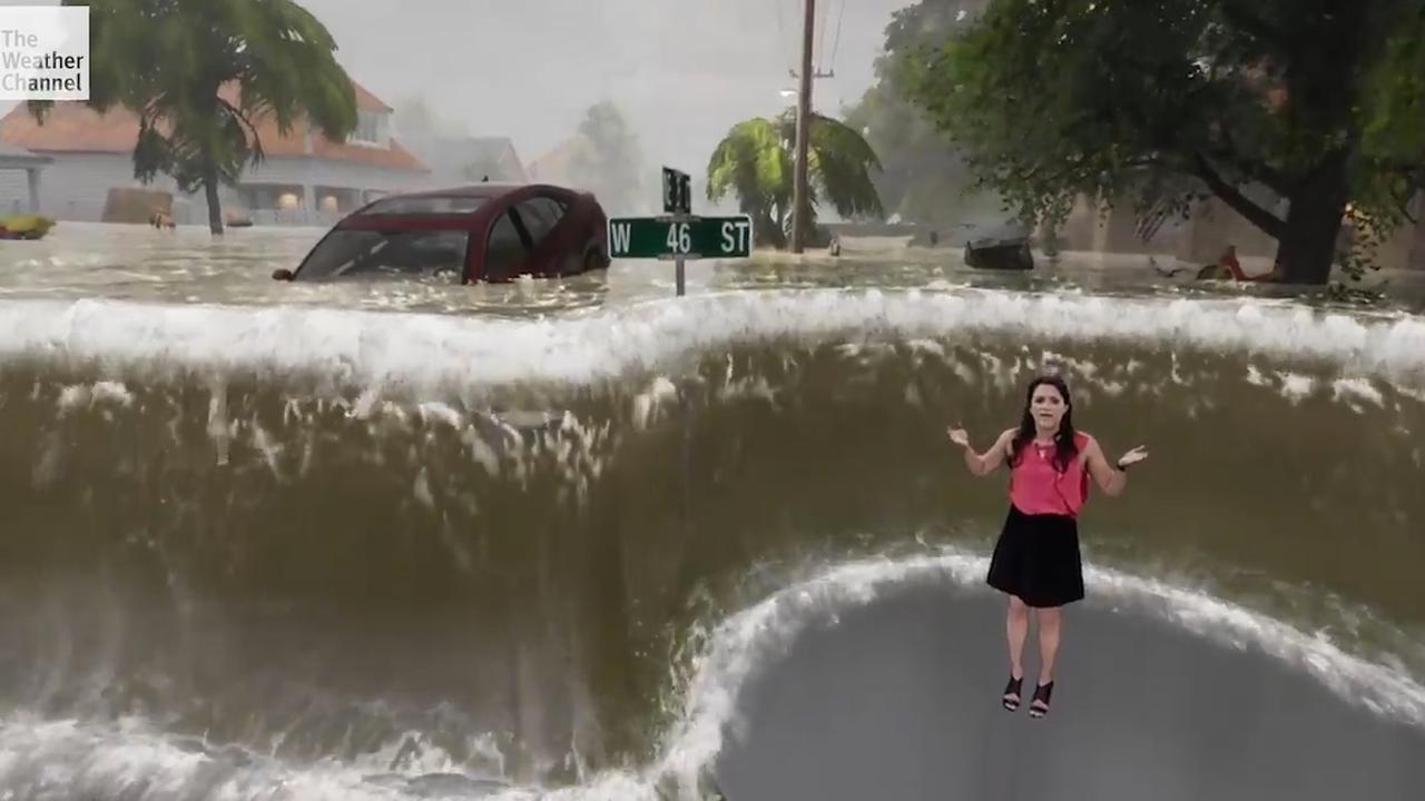 Weervrouw bootst overstromingsgevaar Florence na in simulatie