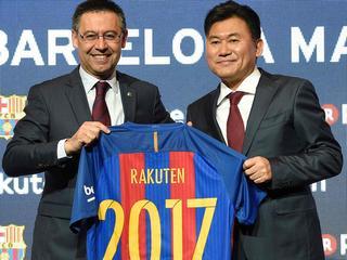 Japanse firma Rakuten vier jaar lang op shirt Spaanse club