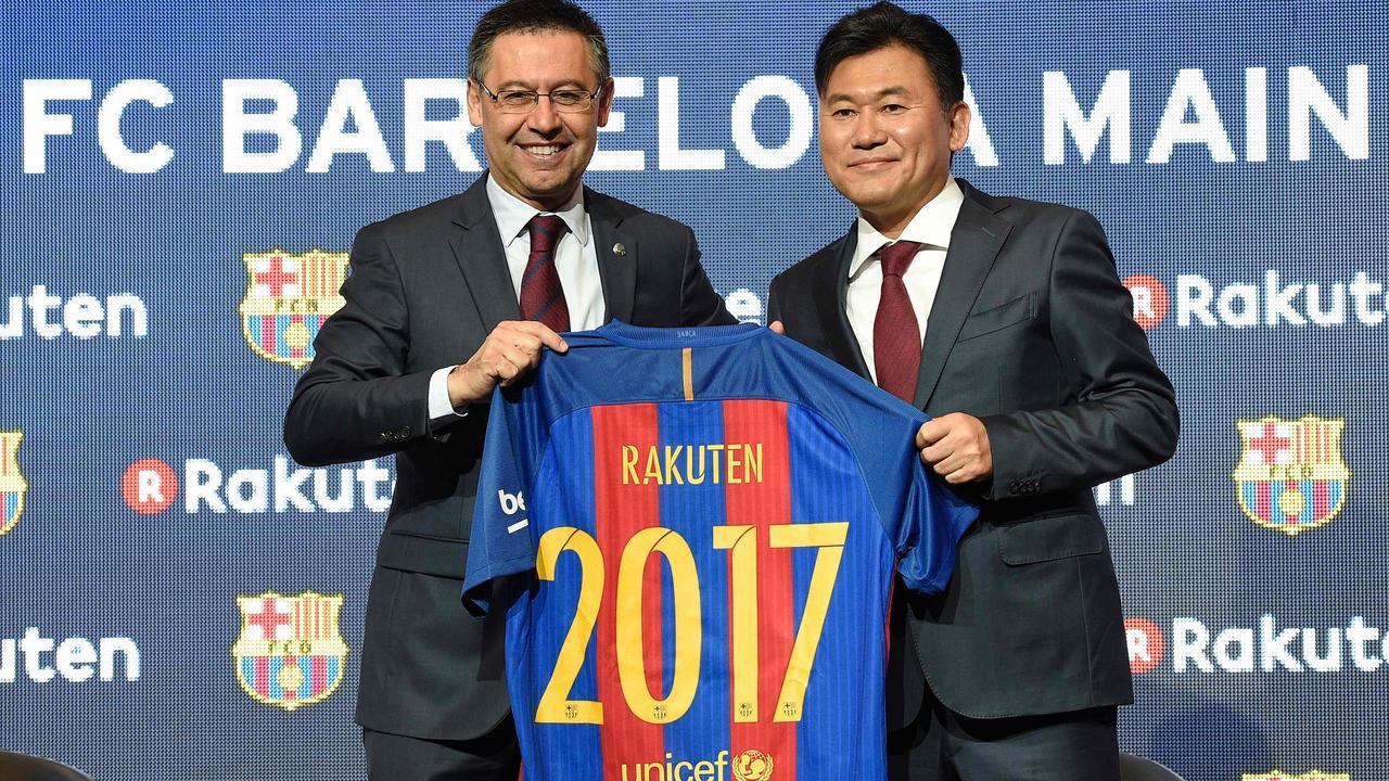 Barcelona Strikt Nieuwe Hoofdsponsor Voor Minimaal 50 Miljoen Euro Per Jaar Nu Het Laatste Nieuws Het Eerst Op Nu Nl