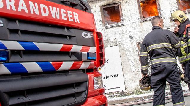 Man zoek na woningbrand Hilversum