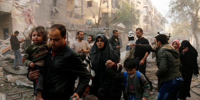 'Ruim 11 procent Syrische bevolking dood of gewond'