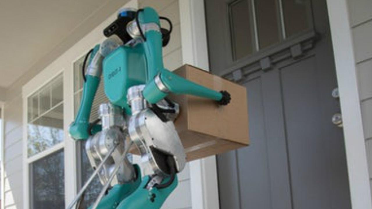 Robot Digit bezorgt pakketjes tot aan de voordeur