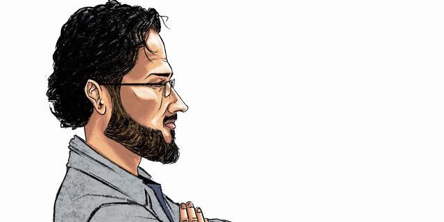 Terrorismeverdachte Hardi N.: 'Besmet geraakt met afschuwelijke ideologie'