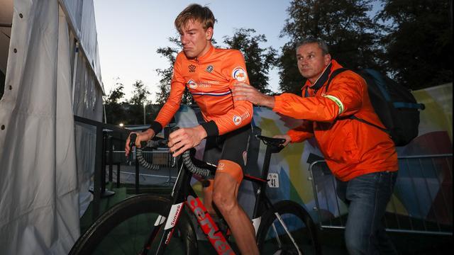 Eekhoff stapt naar CAS vanwege diskwalificatie bij WK wielrennen