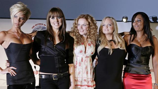 Spice Girls weer samen in de studio