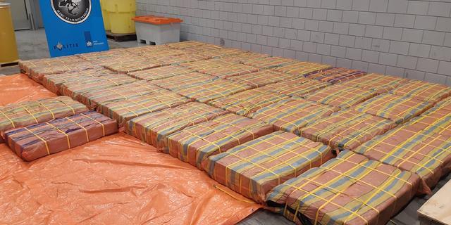 Een van de grootste vangsten in Rotterdam ooit: 3.001 kilo cocaïne onderschept
