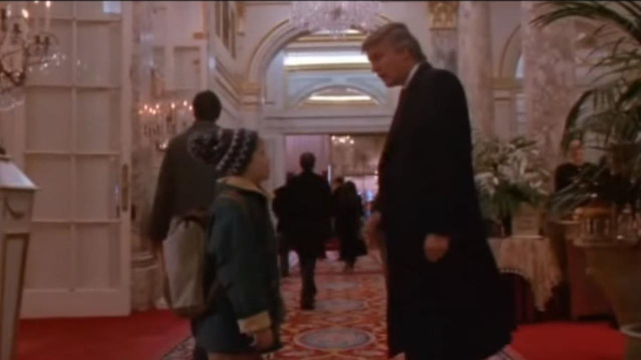 Donald Trump speelt gastrol in Home Alone 2
