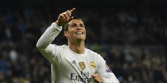 Ronaldo eerste speler ooit met minimaal tien goals in groepsfase