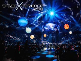 Bestel nu kaarten voor SpaceXperience 2018 – into the future LIVE met 10 euro zomerkorting