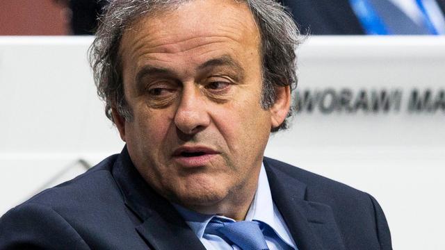 Platini ondanks nederlaag prins Ali trots op UEFA