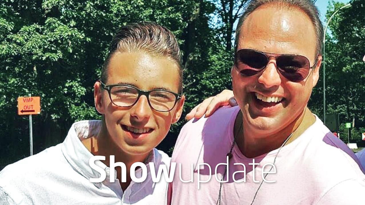 Show Update: Zoon van Frans Bauer 16 jaar geworden