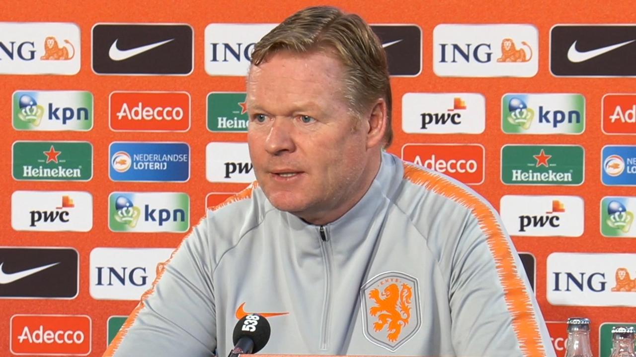 Koeman: 'Oranje heeft geen garantie voor winst tegen Duitsland'