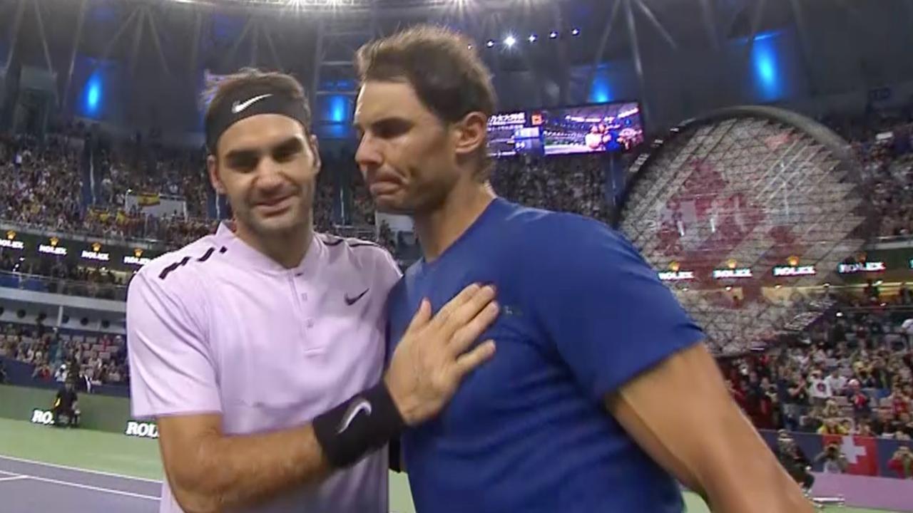 Federer klopt Nadal in twee sets in finale Masters Shanghai