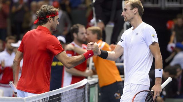 Davis Cup-team loopt plek in wereldgroep mis tegen Zwitsers