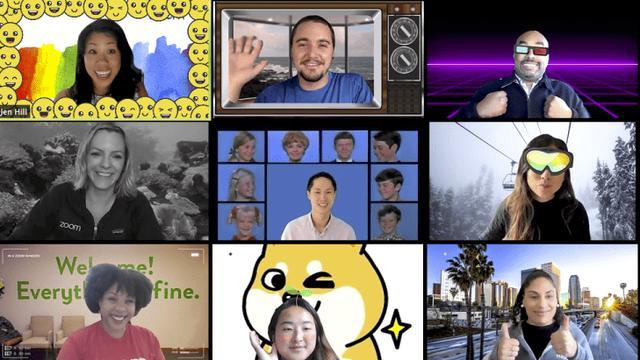 Zoom voegt filters toe: videobellen als een piraat of vanuit de ruimte