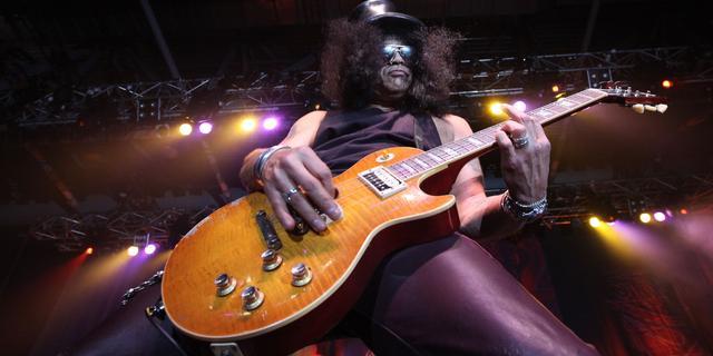 Gitarist Slash zeer verheugd met reünie Guns N' Roses