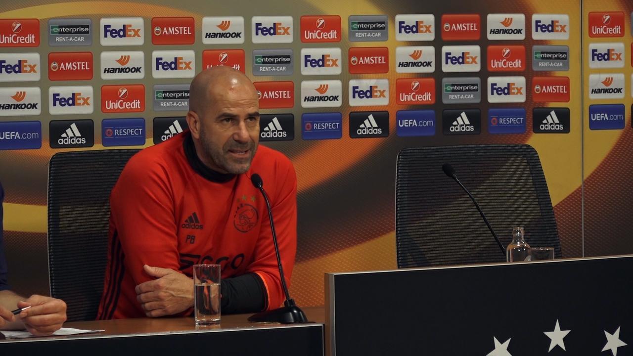 Bosz: 'We kunnen met aanvallend voetbal de finale winnen'