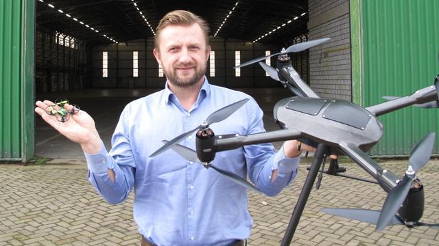 Drone Center Valkenburg open voor publiek en bedrijven