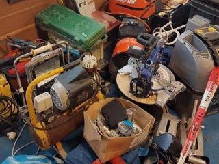 De gereedschappen werden in november aangetroffen tijdens de doorzoeking van een woning.