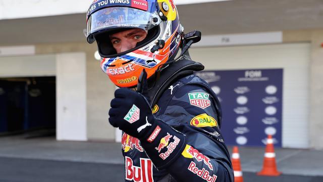 Verstappen zeer tevreden met derde startplek voor GP Mexico
