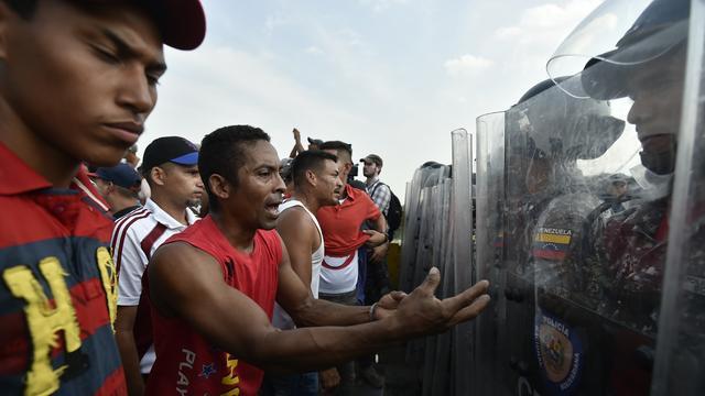 Spanningen lopen op in Venezuela