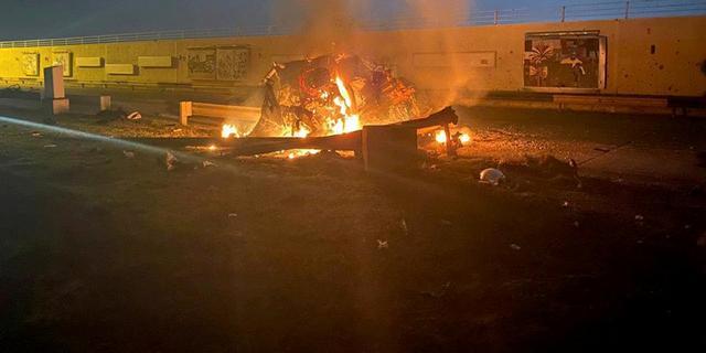 VS doodt Iraanse generaal met luchtaanval op Iraaks vliegveld