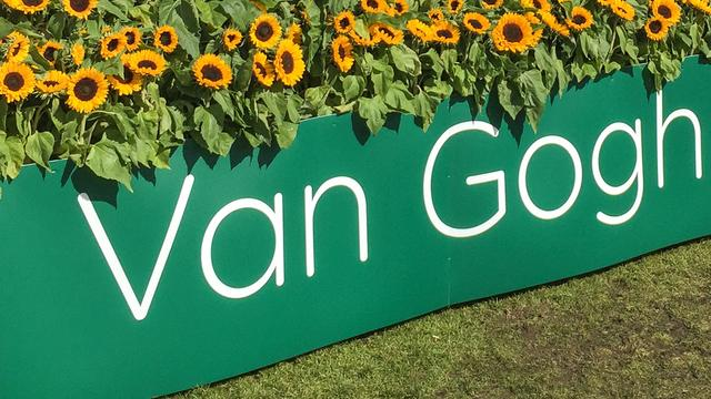 Bloemendoolhof van 7.000 vierkante meter voor Van Gogh Museum