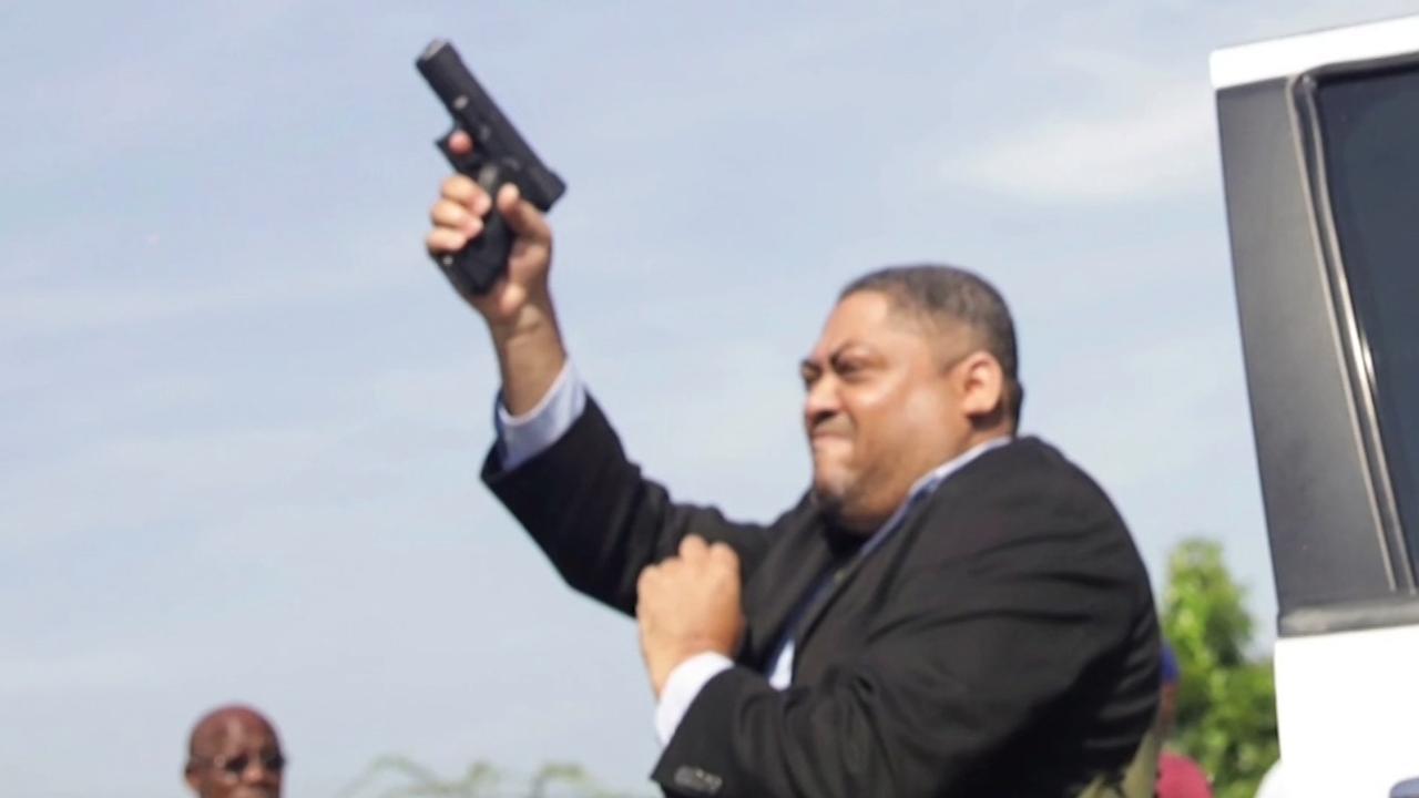 Haïtiaanse senator verwondt fotograaf met waarschuwingsschot